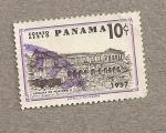 Stamps America - Panama -  Aduana de Portobello