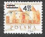 Sellos de Europa - Polonia -  1924 - Castillo de Barbacana