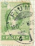 Stamps Europe - Italy -  Fiume - Figura alegórica