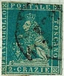 Stamps : Europe : Italy :  Toscana - Grand-Duché