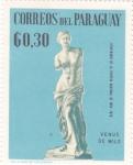 Stamps Paraguay -  Venus de Milo