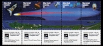 Stamps Oceania - Marshall Islands -  Cometa Halley 1985-1986