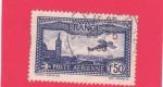 Sellos del Mundo : Europa : Francia :  avioneta sobrevolando...
