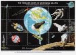 Sellos del Mundo : Oceania : Micronesia : 20 Aniversario del alunizaje del modulo lunar del Apolo 11