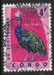 Stamps : Africa : Republic_of_the_Congo :  Afropavo congensis