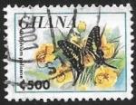 Sellos del Mundo : Africa : Ghana : mariposas