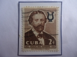 Stamps Cuba -  Nicolás Ruiz Espadero (1832-1890)- Compositor, Pianista (Faustino de Jesús Nicolás Ruiz Espadero)