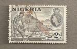 Stamps Africa - Nigeria -  Minería de estaño