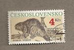 Stamps Czechoslovakia -  Animales protegidos
