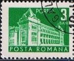 Stamps : Europe : Romania :  Correos y telecomunicaciones II, oficina principal de correos