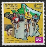 Stamps : Africa : Equatorial_Guinea :  Eddy Merckx (*1945):