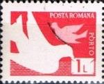Stamps : Europe : Romania :  Correos y telecomunicaciones IV, Palomas