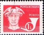 Stamps : Europe : Romania :  Correos y telecomunicaciones IV, Post cuerno