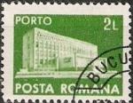 Stamps : Europe : Romania :  Correos y telecomunicaciones IV, Nuevo edificio principal de correos