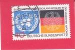 Sellos del Mundo : Europa : Alemania : Emblemas del Águila de las Naciones Unidas y Alemania