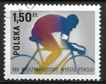 Stamps : Europe : Poland :  Ciclismo