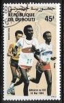 Stamps : Africa : Djibouti :  Deporte - Corridas