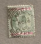 Stamps Asia - Cyprus -  Eduardo VII