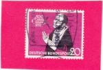 Sellos del Mundo : Europa : Alemania : 500 aniv. Nicolás de Cusa