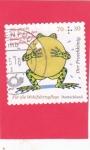 Stamps : Europe : Germany :  El rey rana