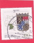 Stamps : Europe : Germany :  Escudo Bayern
