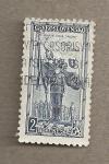 Stamps Czechoslovakia -  Heyduk con bandera