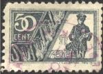 Stamps Colombia -  SMP (sociedad de las mejoras públicas) Medellín. Cartero, maíz.