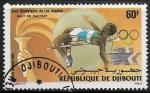 Sellos del Mundo : Africa : Djibouti : Juegos Olimpicos de Verano Los Angeles 1984