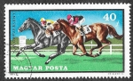 Stamps : Europe : Hungary :  2097 - Deportes Ecuestres