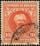 Stamps Bolivia -  Eduardo ABAROA.