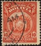 Stamps America - Bolivia -  Escudo de Bolivia.