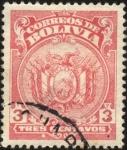 Sellos de America - Bolivia -  Escudo de Bolivia.