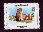 Stamps : Africa : Morocco :  1300 F0ndaci0n  SIJILMASSA  Marruecos