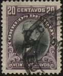 Stamps Bolivia -  Presidente Andrés de Santa Cruz.
