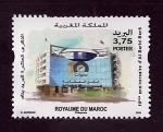 Stamps : Africa : Morocco :  10 Anive.Caja de Ahorros