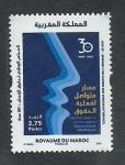 Stamps : Africa : Morocco :  Congreso nacional derechos del hombre
