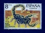 Stamps : Europe : Spain :  Escorpion