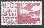 Sellos del Mundo : America : México : C194 - Estadio Olímpico Universitario de la Ciudad de México