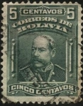 Stamps America - Bolivia -  Presidente Narciso Campero Leyes.