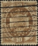 Stamps Bolivia -  Escudo de Bolivia.