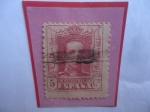 Stamps : Europe : Spain :  Ed:Es 312- King Alfonso XIII-1922-(Con N°B347.564 de Control en el Dorso de la Estampilla)