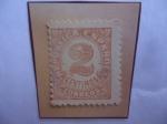 Stamps : Europe : Spain :  Ed:Es 678 - Numero - Sello de 2 Céntimos de Peseta, año 1933