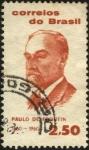 Stamps Brazil -  Centenario nacimiento de PAULO DE FRONTIN.