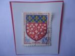 Stamps : Europe : France :  AMIENS-(Aomme)- Escudo de Armas de la Ciudad de Amiens.