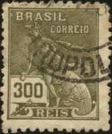 Sellos de America - Brasil -  Mercurio.