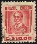 Stamps America - Brazil -  Conde de Porto Alegre.