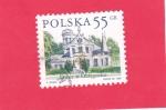 Sellos del Mundo : Europa : Polonia :  Mansión Oblęgorek