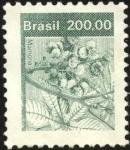 Stamps Brazil -  Mamona.