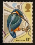 Stamps United Kingdom -  Pajaros