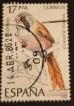 Stamps : Europe : Spain :  Pajaros